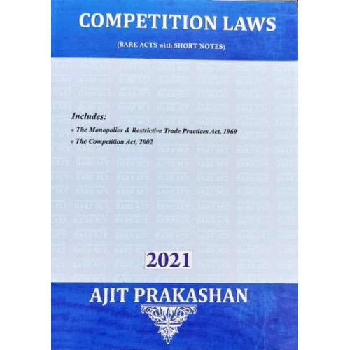Ajit Prakashan's Competition Laws (Bare Acts with Short Notes)