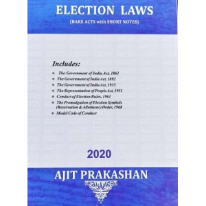 Ajit Prakashan's Election Laws (Bare Acts with Short Notes)