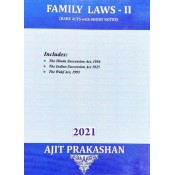 Ajit Prakashan's Family Laws II (Bare Acts with Short Notes)