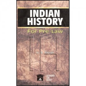 Allahabad Law Agency's Indian History For Pre-Law by U. S. Singh