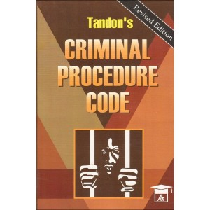 Tandon's Criminal Procedure Code [Cr.P.C.] by Richa Mishra for Allahabad Law Agency