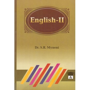 ALA's English - II for BL/LLB by Dr. S. R. Myneni | Allahabad Law Agency
