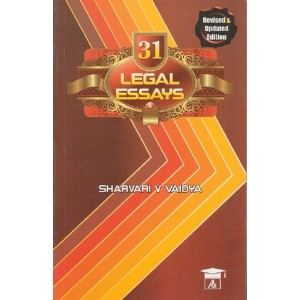 Allahabad Law Agency's 31 Legal Essays for BSL & LL.B by Sharvari V. Vaidya