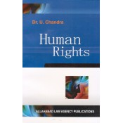 Dr. U. Chandra's Human Rights by Allahabad Law Agency Publications