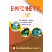 Allahabad Law Agency's Environmental Law for B.S.L / LL.B by Dr. Paramjit S. Jaswal, Nishtha Jaswal & Vibhuti Jaswal