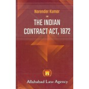 Allahabad Law Agency's The Indian Contract Act, 1872 by Dr. Narender Kumar