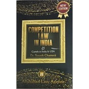 Allahabad Law Agency's Competition Law in India & Cartels in India & USA by Dr. Souvik Chatterji