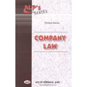 Amar Law Publication's Company Law for BA.LL.B by Paritosh Sharma