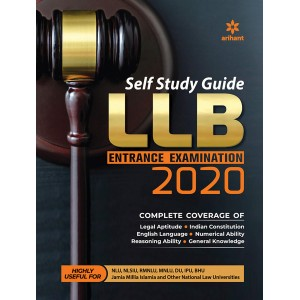 Arihant's Self Study Guide for LLB Entrance Examination 2020