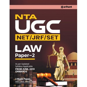 Arihant's NTA UGC NET/JRF/SET Law Paper 2 with 3 Model Papers