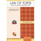 Ascent Publication's Law of Torts by Dr. Ashok Kumar Jain