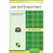 Ascent Publication's Law & Environment by Dr. Ashok Kumar Jain