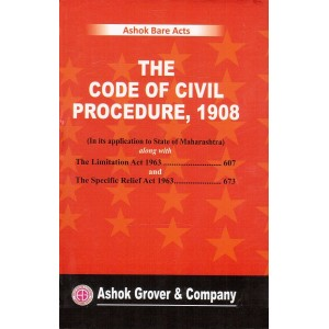 Ashok Grover's The Code of Civil Procedure Bare Act [CPC - HB] | Ashok Bare Act