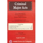 Ashok Grover & Company's Criminal Major Acts [HB] by Dr. Arshad Subzwari & B. R. Survase