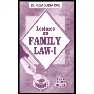 Dr. Rega Surya Rao's Family Law - I (Hindu Law) for BSL | LL.B by Asia Law House