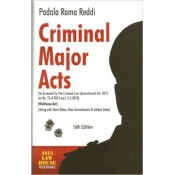 Asia Law House's Criminal Major Acts (IPC, Cr.PC, Evidence) with free CD including Lokpal & Lokayuktas Act, 2013 by Padala Rama Reddi