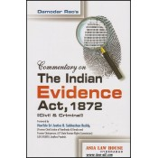 Asia Law House's Commentary on The Indian Evidence Act, 1872 (Civil & Criminal) by Adv. Damodar Rao