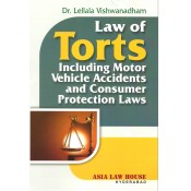 Asia Law House's Law of Torts Including Motor Vehicle Accidents and Consumer Protection Laws by Dr. Lellala Vishwanadham