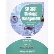 Asia Law House's SM 360' Strategic Management for CA IIPC Paper 7B May 2017 onwards by CA. Praveen Jain