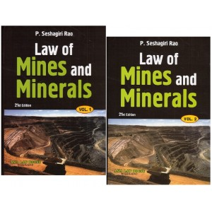 P. Seshagiri Rao's Law of Mines and Minerals [2 HB Vols] | Asia Law House