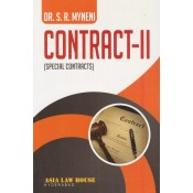 Asia Law House Contract II (Special Contracts) by Dr. S.R. Myneni