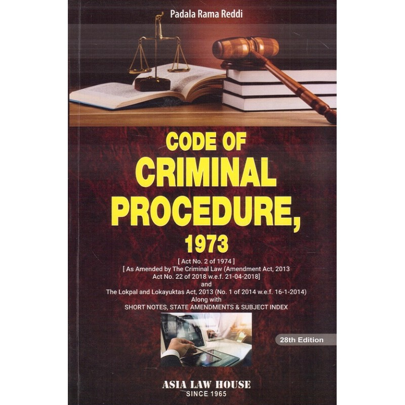Asia Law House's Code of Criminal Procedure, 1973 [Cr P C
