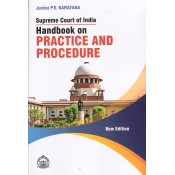 Asia Law House's Supreme Court of India Handbook on Practice and Procedure by Justice P. S. Narayana