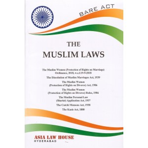 Asia Law House's Bare Act on The Muslim Laws