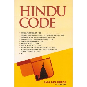 Asia Law House's Hindu Code