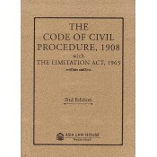 Asia Law House's The Code of Civil Procedure, 1908 (CPC-Pocket) with Limitation Act, 1963 Bare Act