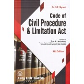 Asia Law House's Code of Civil Procedure [CPC] & Limitation Act For BSL & LLB by Dr. S. R. Myneni