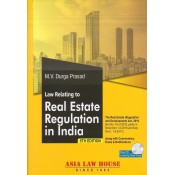 Asia Law House's Law relating to Real Estate Regulation in India [HB] by M. V. Durga Prasad