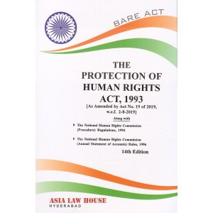 Asia Law House's The Protection of Human Rights Act, 1993 Bare Act
