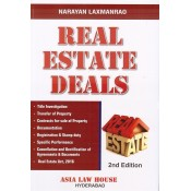 Asia Law House's Real Estate Deals [RERA - HB] by Narayan Laxmanrao