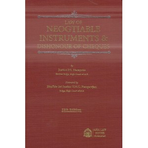 Asia Law House's Law of Negotiable Instruments & Dishonour of Cheques [HB] by Justice P. S. Narayana
