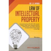 Asia Law house's Law of Intellectual Property For BL/LL.B by Dr. S.R. Myneni