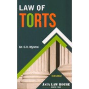 Asia Law House's Law of Torts by Dr. S. R. Myneni