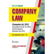 Asia Law House's Company Law (Corporate Law - I) for BALLB & LLB by Dr. S. R. Myneni