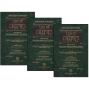 Ratanlal & Dhirajlal's Law of Crimes - A Commentary on Indian Penal Code by Sriniwas Gupta, Preeti Mishra [3 HB Vols] | Bharat Law House