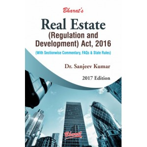 Bharat's Real Estate (Regulation and Development) Act, 2016 by Dr. Sanjeev Kumar | RERA Act 2016