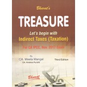 Bharat's Treasure Let's begin with Indirect Taxes (Taxation) for CA IPCC Nov. 2017 Exam by CA. Meeta Mangal