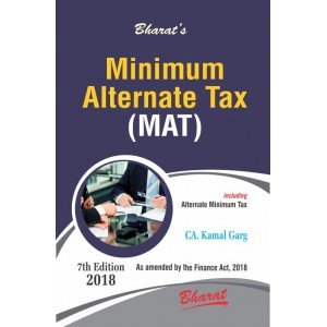 Bharat Law House's Minimum Alternate Tax (MAT) 2019 by CA. Kamal Garg