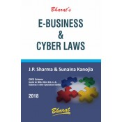 Bharat's E-Business & Cyber Laws useful for MBA, MCA, BCA & LL.B By J. P. Sharma & Sunaina Kanojia