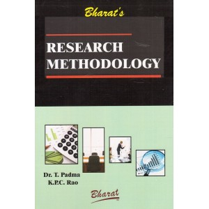 Bharat's Research Methodology by Dr. T. Padma, K.P.C. Rao