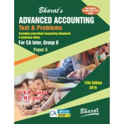 Bharat's Advanced Accounting Text & Problems for CA Inter, Group II Paper 5 May & Nov. 2019 Exam [New Syllabus] by Dr. B. M. Agarwal & Dr. M. P. Gupta