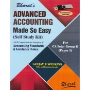 Bharat's Advanced Accounting Made So Easy (Self Study Kit) for CA Inter Group II Paper 5 May 2019 Exam by Sanjay K Welkins