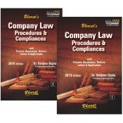 Bharat's Company Law Procedures & Compliances by Dr. Sanjeev Gupta [2 HB Vols.]