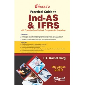Bharat's Practical Guide to Ind-AS & IFRS by CA. Kamal Garg