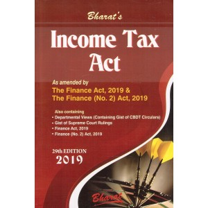 Bharat's Income Tax Act 2019 by Ravi Puliani & Mahesh Puliani