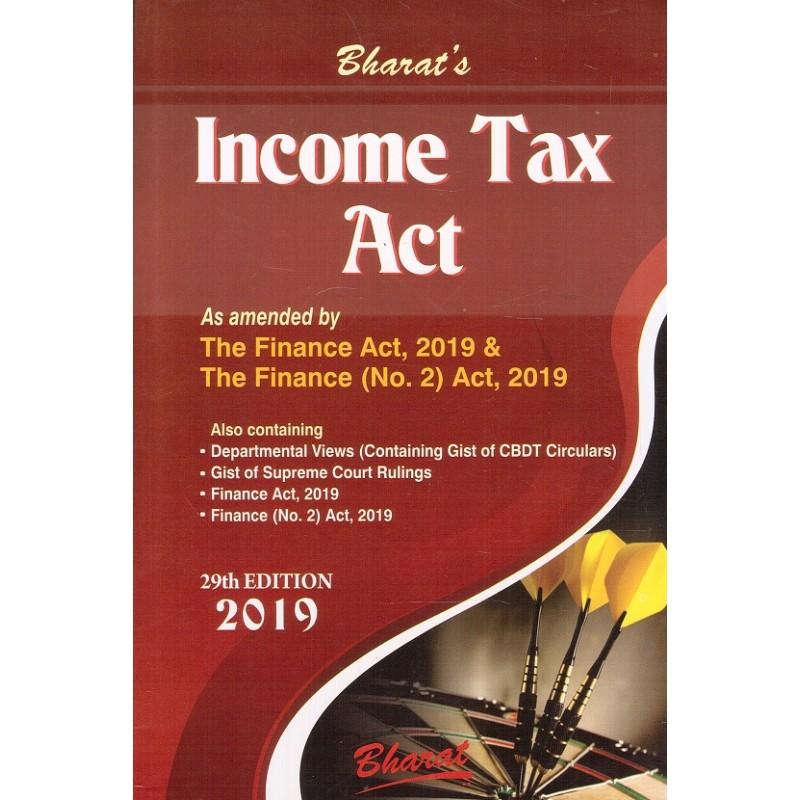 Bharat's Income Tax Act 2019 by Ravi Puliani & Mahesh Puliani